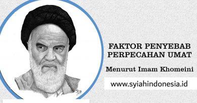 Faktor Penyebab Perpecahan Umat Menurut Imam Khomeini